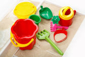 Children sandbox — Stock Photo