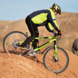 Freeride on red canyon — Stock Photo #2697553