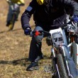 Chase on mountain bike race — Stock Photo #2698670