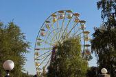 Yellow Ferris Wheel — Stock Photo
