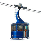 Cablecar isolated — Stock Photo