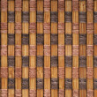 Wicker matting texture - Stock Photo