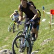 Foto Stock: Bike Uphill