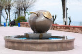 Stony apple monument — Stock Photo