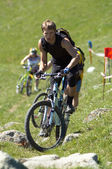 Bike Uphill — Foto Stock