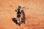Bikers Uphill — Stockfoto