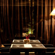 Interior night restaurant — Stock Photo