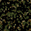 Seamless camouflage wallpaper background - Stock Photo