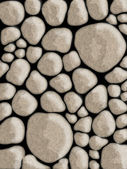Stone walls abstract background — Stock Photo