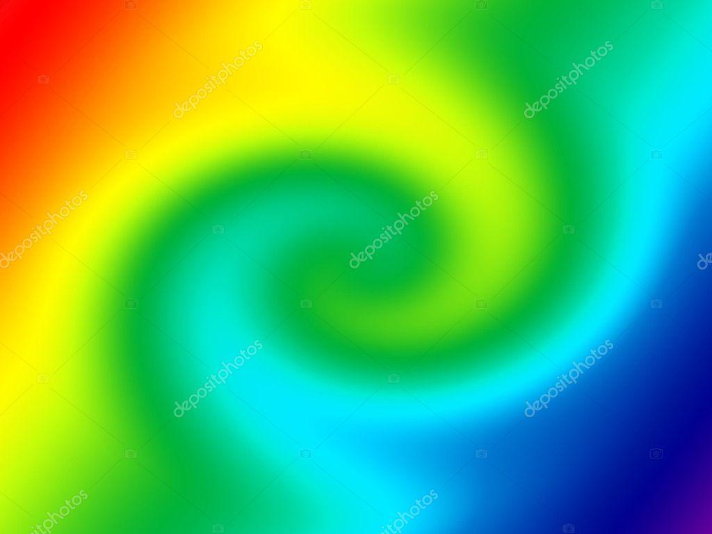 扭曲渐变颜色背景.彩虹— 照片作者 sanadesign