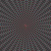 Color optical illusion — Stock Photo