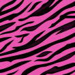 Royalty-Free Stock Vector Image: Animal pattern - pink tiger skin