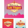 Welcome to Las Vegas — Stock Vector