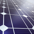 Blue solar panel - Stock Photo