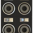 Loudspeakers — Stock Photo