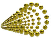 金色领域 — 图库照片