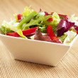 Stock Photo: Bowl with salad
