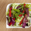 Bowl with salad - Stock Photo