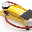 Yellow inflator - Stock Photo