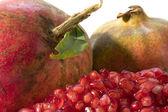 Pomegranate close up — Stock Photo