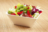 Bowl with salad — Stock Photo