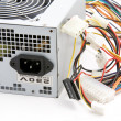 Computer power supply macro — Stock Photo