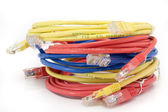 Bunch of Utp cables — Stock Photo