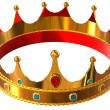Stock Photo: Golden crown