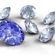 Six diamonds — Stock Photo #3709798
