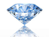 Blue diamond — Stockfoto