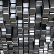 Stock Photo: 3d metal bars