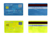 Two credit cards — Stock Photo
