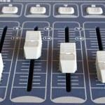 Light mixer detail — Stock Photo
