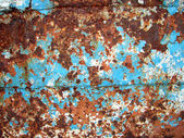 Rusted metal plate — Stock Photo