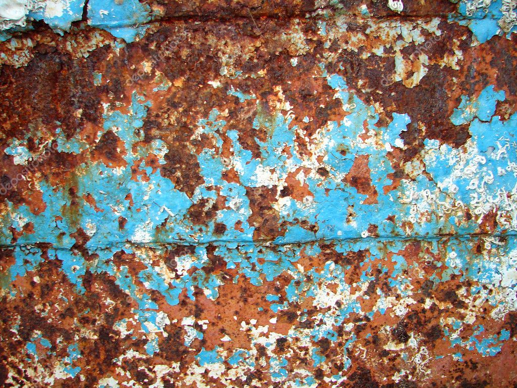 Rusted metal plate stock photo tomisl z 3737835 - Peinture fer effet rouille ...