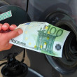 Fuel prices — Stockfoto
