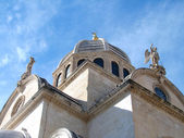 St. James cathedral in Sibenik — Stock Photo