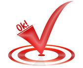 Ok símbolo — Foto Stock