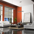 Foto de Stock  : Home interior with sofas