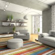 Home interior of drawing-room — Stock Photo #2767561