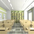 Interior of lecture-room — Stock Photo #2768027