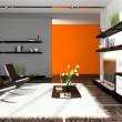 Interior of modern apartment — Stock Photo