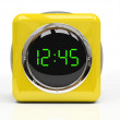 Stock Photo: Yellow watch