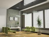 Müzakereler için iç ofis — Foto de Stock