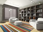 Casa interior de salón — Foto de Stock