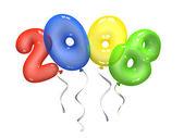 Kleur lucht ballonnen 2008 — Stockfoto