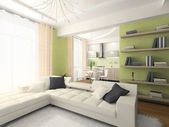 Interior of modern apartment — Stock Photo