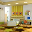 Modern interior of the childroom — Stock Photo #3464386