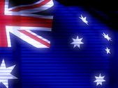 Australian flag — Stock Photo