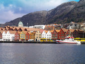 Bryggen Bergen — Stock Photo
